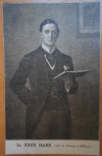 Sir John Hare,Vintage Postcard, Grand Theatre Hull, 1908